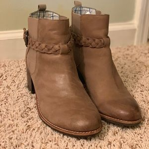 Sperry Top-Sider Gray Ankle Boots